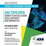 corso impianti gas domestici